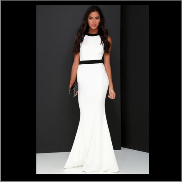 black and white maxi dressbridal shower dress