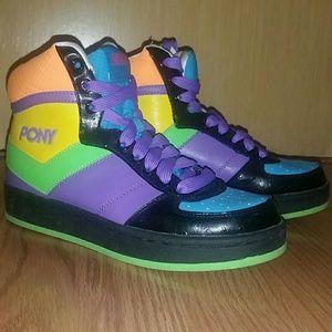 NWOT unisex Pony Neff high top city wings sneaker
