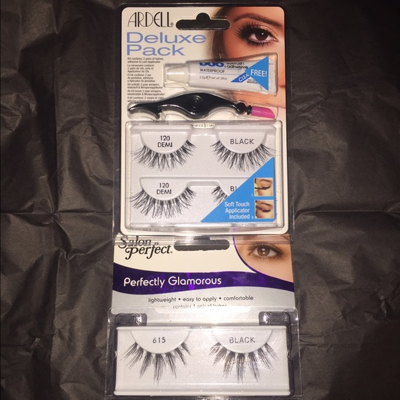 af1eaee1fa9 Ardell Deluxe Pack & Salon Perfect False Eyelashes. Listing Price: $10.00