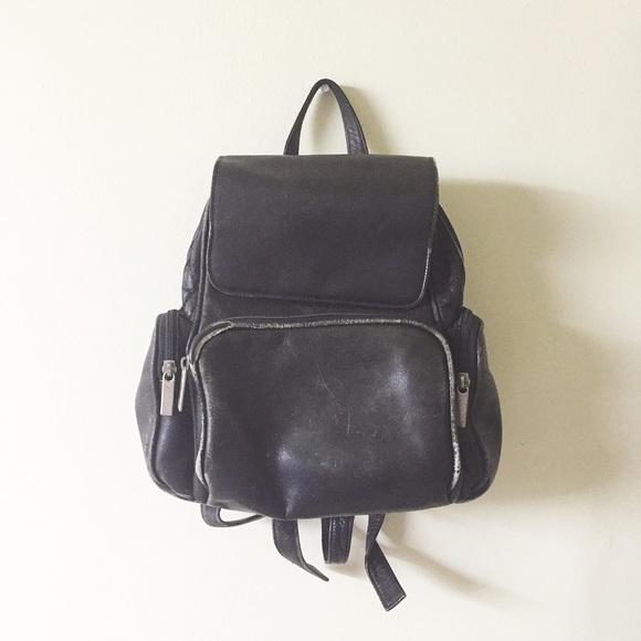 89% off Wilsons Leather Handbags - Wilson's leather genuine black ...