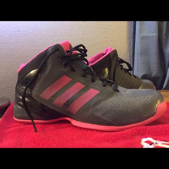 Le Adidas Smoky Greypink Basket Poshmark