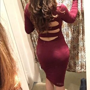 Dresses & Skirts - Wine dress