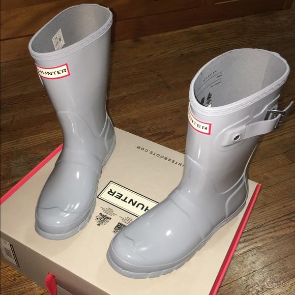 29% off Hunter Shoes - Women\'s Hunter Original Short Gloss Rain ...