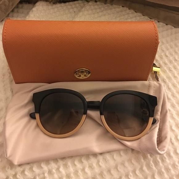 510a3d99a05 Tory Burch - Eclectic Two Tone Sunglasses. M 567a2833522b45d94300c6a6