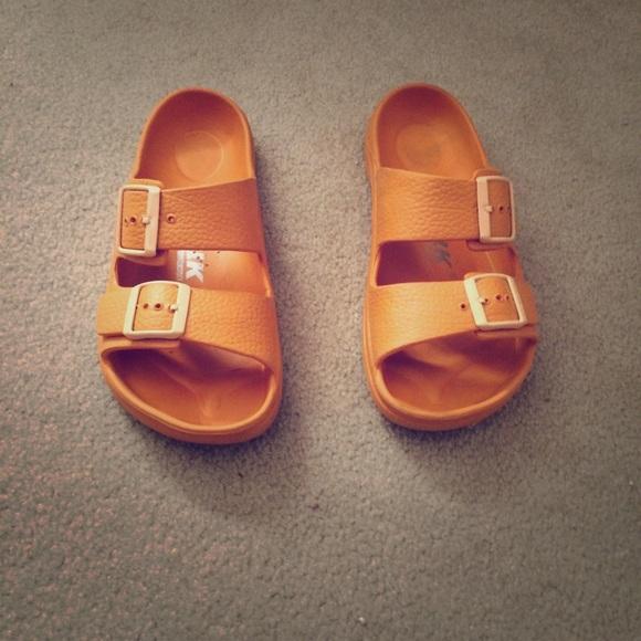 1260d708c3eb Birkenstock Shoes - Newalk Birkenstock orange sandals