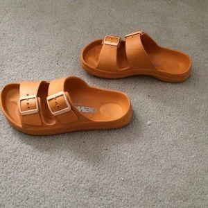 e5c555062731c6 Birkenstock Shoes - Newalk Birkenstock orange sandals
