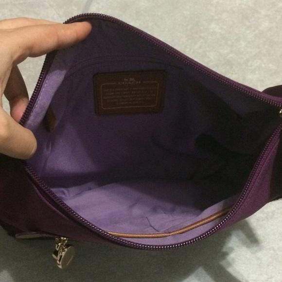 44 Off Coach Handbags Authentic Coach Nylon Crossbody