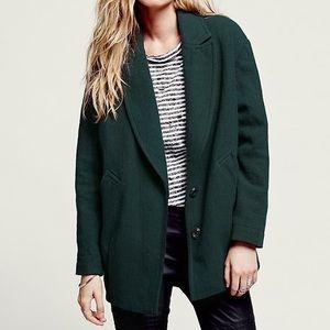 Free People slouchy boyfriend jacket