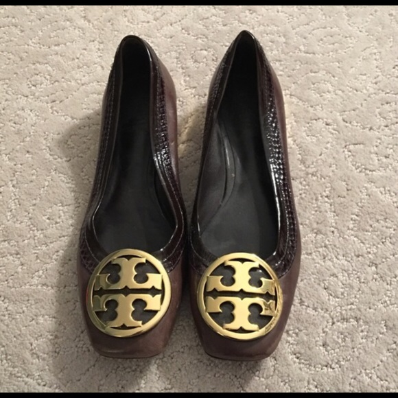 clearance ebay Tory Burch Suede Square-Toe Pumps outlet visit new CLIaY