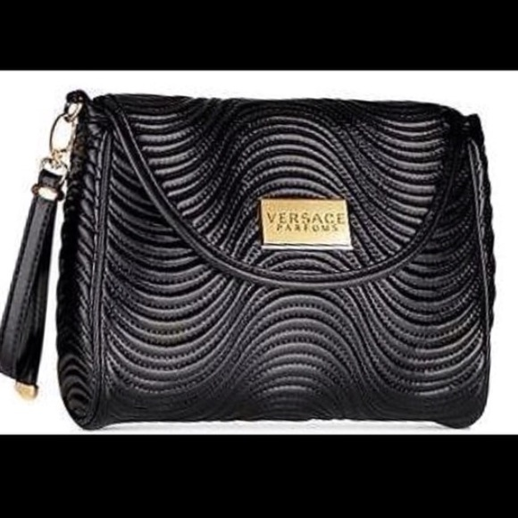 fd0f4ad0dc Versace black clutch. M 567a4e6144adba265201b107