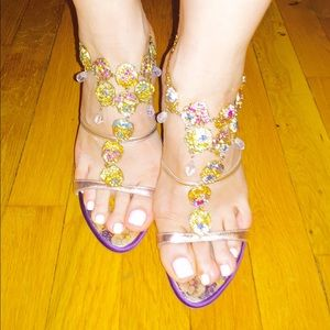Giuseppe Zanotti Shoes - Giuseppe Zanotti Wedge Sandal