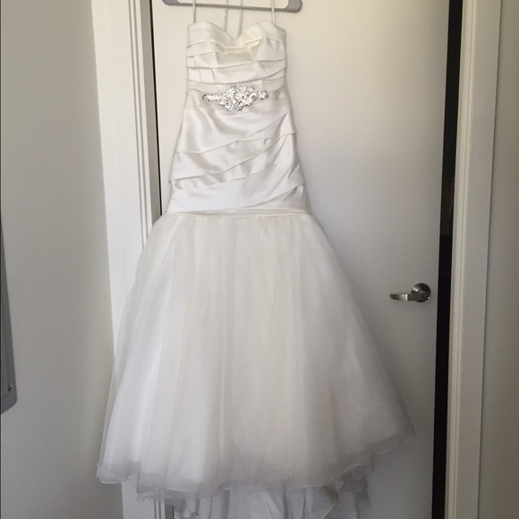 Vera Wang Dresses | Mikado Wedding Gown | Poshmark