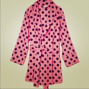 New Victoria's Secret polka dot robe