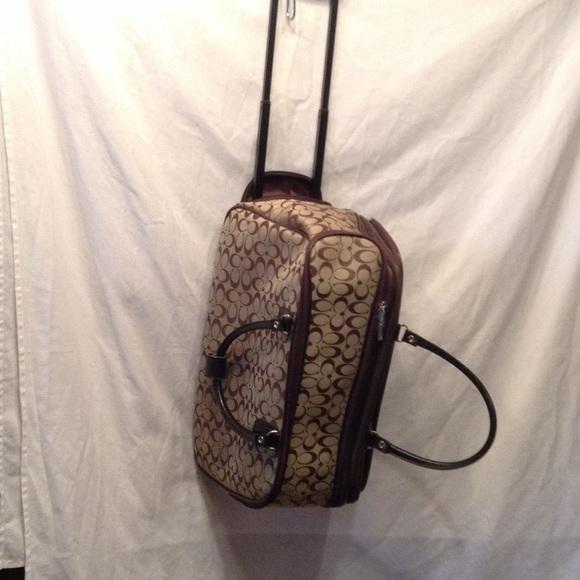 Coach Bags   Replica Wheeled Duffle Bag   Poshmark f5018bd7ee