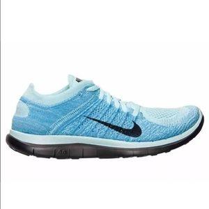 Nike Flyknit 4,0 Svarte Kvinners Uk Jean Størrelse