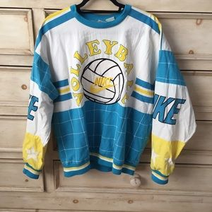 ab0eac8a304e3 Nike Sweaters   Vintage Volleyball Pullover   Poshmark