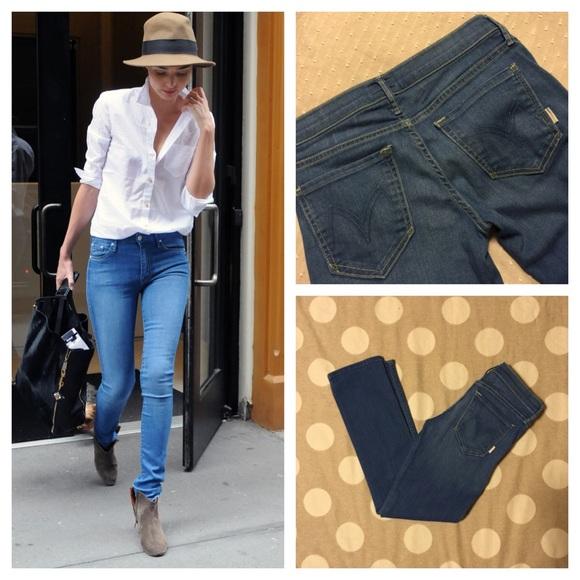 9072976bd8de Anthropologie Jeans | Mother Brand Rascal Cuff Crop Denim | Poshmark