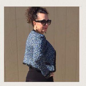  Listing Blue Tweed Jacket