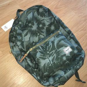 d77ef56b1e3 Herschel Supply Company Bags - NWT Herschel Settlement Backpack in Green  Floral