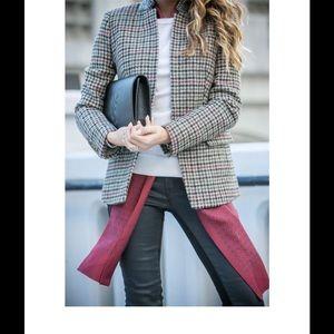 JCrew silk tie scarf