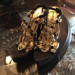 New Bebe Sandal Gold color