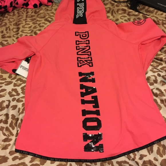 PINK Victoria's Secret - 2015 vs pink fashion show jacket! from ...