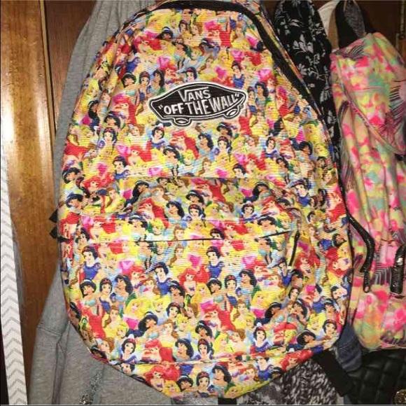 ecedb860aae43e Disney X Vans princess backpack. M 567b31e46a5830deac0074e5