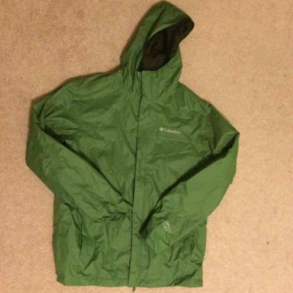 55% off Columbia Other - Green Men's Columbia Rain Jacket from ...