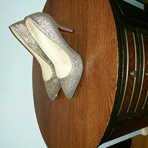 Cute Silver Shoes