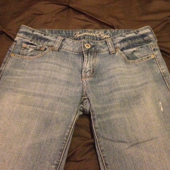 82% off American Eagle Outfitters Denim - American Eagle Wide Leg ...