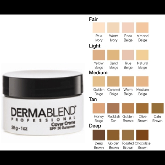 Dermablend makeup professional cover creme fair poshmark