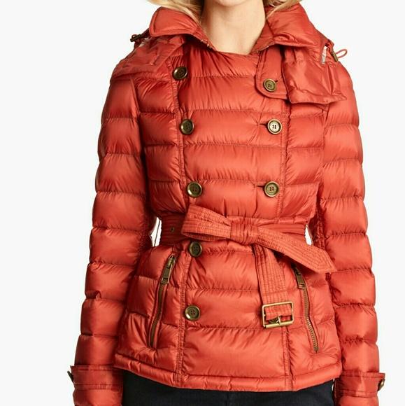 Burberry Jackets Amp Coats Brit Mintlyn Puffer Jacket