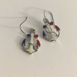 Jewelry - ⚓️Bought in Japan Nautical anchor earrings