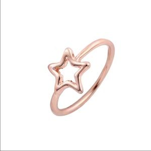 Boutique Jewelry - 🆕Rose gold star ring