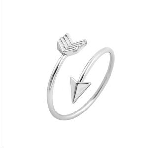 Boutique Jewelry - 🆕Silver plated wrap around arrow ring