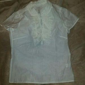 J.Crew short sleeve blouse