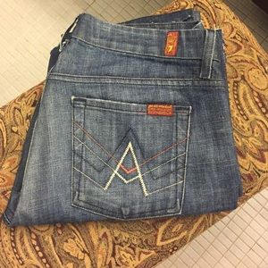 7 for all mankind -  A pocket denim