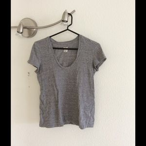 L'AGENCE Tops - L'Agence for Ron Herman Grey T Shirt S