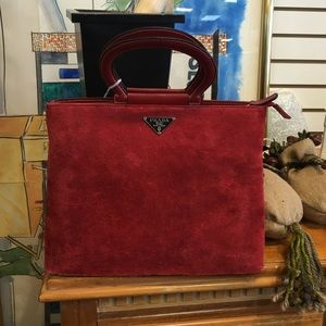 yves saint laurent handbags uk - prada red suede handbag
