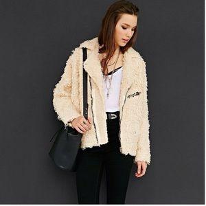 Unif Fur Moto jacket