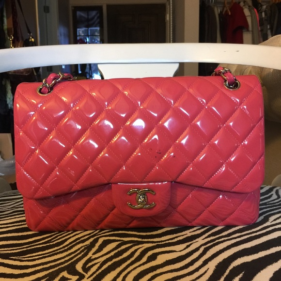 e804af9d361a CHANEL Bags | Classic Double Flap Jumbo Patent Leather | Poshmark