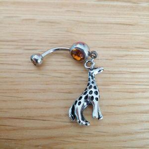 Giraffe Belly Button Ring Boutique