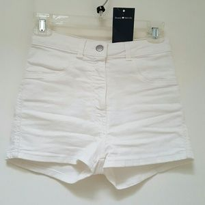 Brandy Melville White Shorts