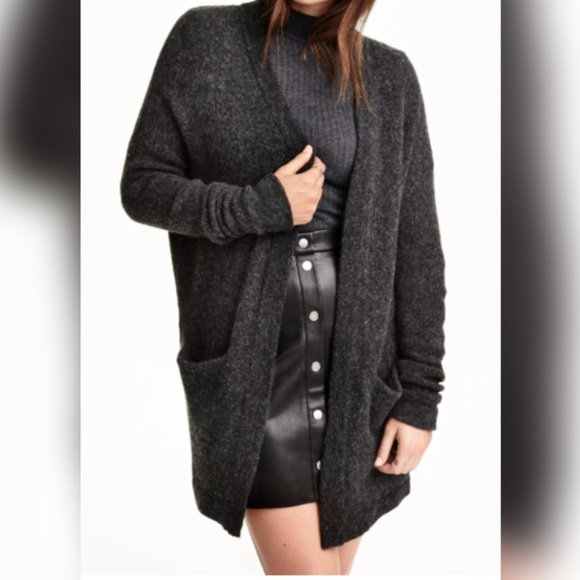 31% off H&M Sweaters - $24!!! BRAND NEW! H&M Dark grey knit ...