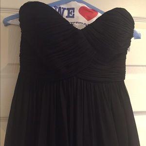 Donna Morgan long black dress