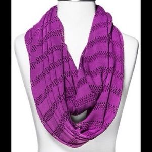 Accessories - Purple infinity scarf