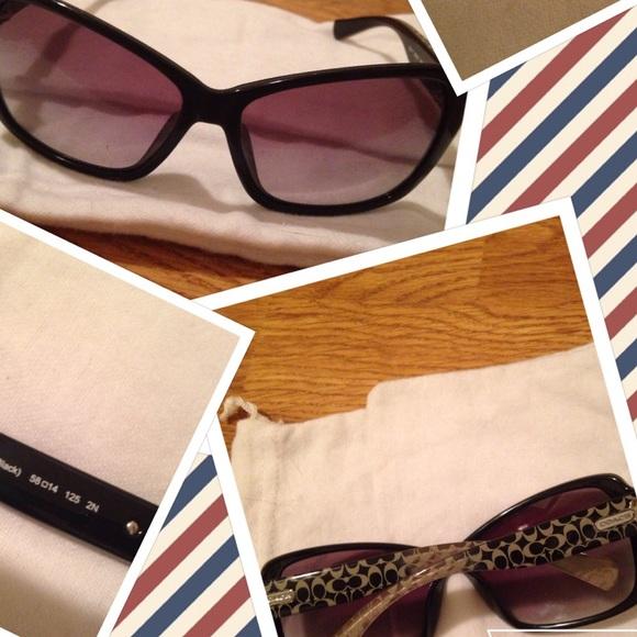 5e129ecb03f COACH HC 8036 Pamela 5002 11 Black Sunglasses