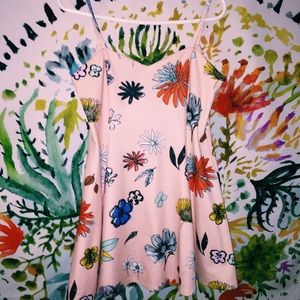 Floral Zara mini dress