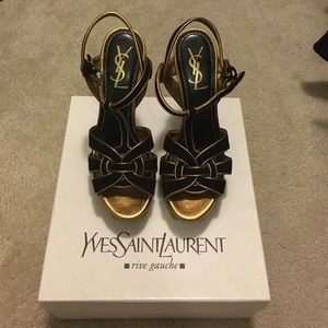 YSL Tribute black and gold