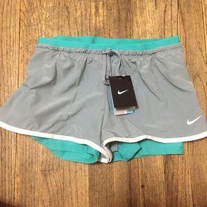 nike air max vs shox - 47% off Nike Pants - NWT Women's 2-IN-1 Full Flex Running Shorts ...
